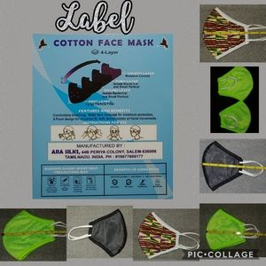 Cotton 4-layer Masks